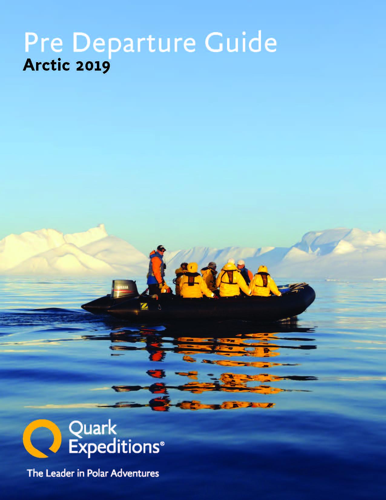Arctic 2019 Pre Departure Book