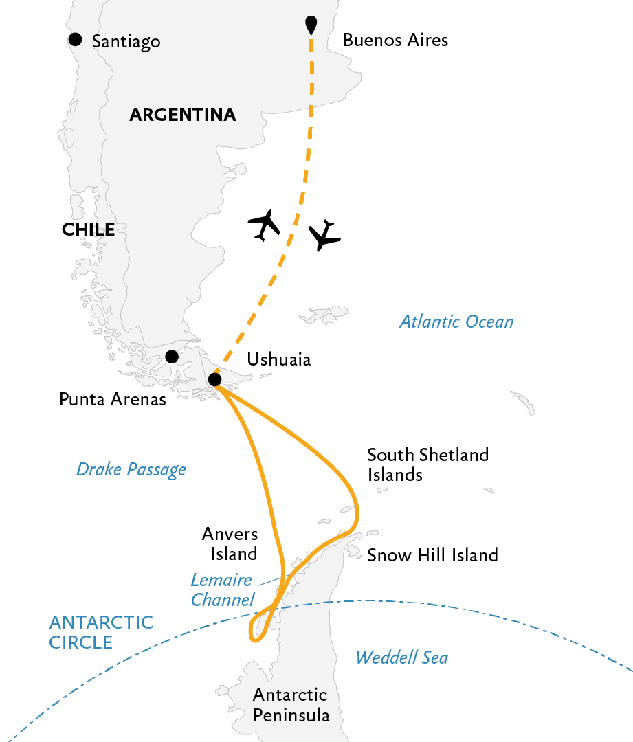 Crossing the Circle: Southern Expedition   Quark Expeditions