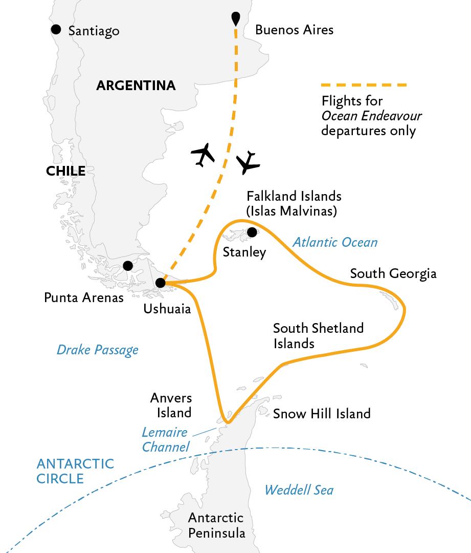 Map Of Georgia 7 Wonders.Falklands South Georgia And Antarctica Explorers And Kings