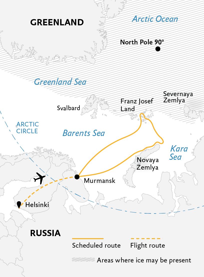 Jewels of the Russian Arctic: Franz Josef Land and Novaya ... on taymyr peninsula russia, franz josef land russia, astrakhan russia, nizhnevartovsk russia, nizhny novgorod russia, buryatia russia, verkhoyansk russia, kalmykia russia, herald island russia, voronezh russia, murmansk russia, arkhangelsk russia, rostov-on-don russia, tatarstan russia, pskov russia, chukchi peninsula russia, yakutsk russia, veliky novgorod russia, kazan russia, yaroslavl russia,