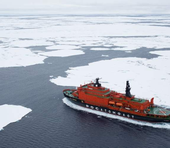 50 Years of Victory on its way to the North Pole