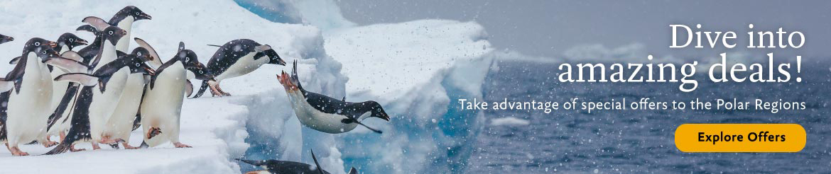 Dive into offers on expeditions to the Polar Regions from Quark Expeditions